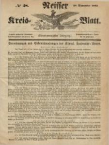 Neisser Kreis-Blatt, 1862, Jg. 21, nr48