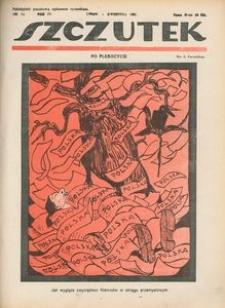 Szczutek, 1921, R. 4, nr 14