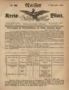 Neisser Kreis-Blatt, 1868, Jg. 27, nr36
