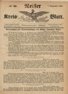 Neisser Kreis-Blatt, 1868, Jg. 27, nr45