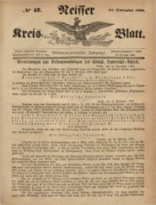 Neisser Kreis-Blatt, 1868, Jg. 27, nr47