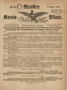 Neisser Kreis-Blatt, 1869, Jg. 28, nr1