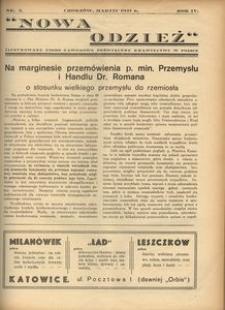 Nowa Odzież, 1937, R. 4, nr 3