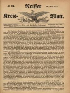 Neisser Kreis-Blatt, 1874, Jg. 33, nr22