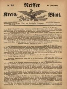 Neisser Kreis-Blatt, 1874, Jg. 33, nr24