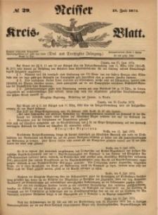 Neisser Kreis-Blatt, 1874, Jg. 33, nr29