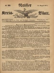 Neisser Kreis-Blatt, 1874, Jg. 33, nr33