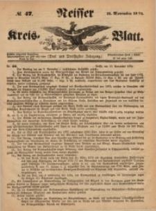 Neisser Kreis-Blatt, 1874, Jg. 33, nr47