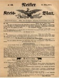 Neisser Kreis-Blatt, 1875, Jg. 34, nr12