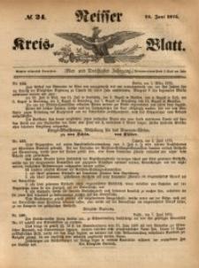 Neisser Kreis-Blatt, 1875, Jg. 34, nr24