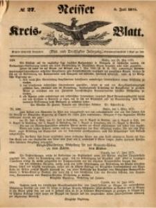Neisser Kreis-Blatt, 1875, Jg. 34, nr27
