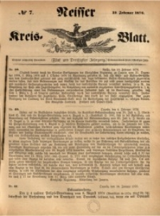Neisser Kreis-Blatt, 1876, Jg. 35, nr7