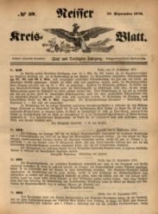 Neisser Kreis-Blatt, 1876, Jg. 35, nr39