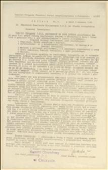 Okólnik Nr 9 Komitetu Okręgowego PPS w Cieszynie w sprawie zwołania Konferencji Krajowej w Skoczowie w dniu 04.07.1926 r. w związku z przewrotem majowym - Cieszyn, 03.06.1926 r.