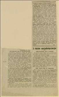 Wycinek z gazety o zwycięstwie PPS w Czechowicach