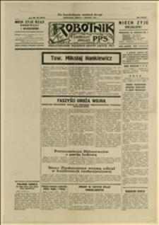 """Karta z """"Robotnika..."""", Nr 273, Warszawa, 01.08.1931 r., R. 37"""