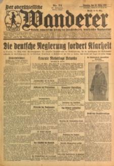 Der Oberschlesische Wanderer, 1926, Jg. 98, Nr. 74
