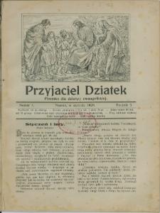 Przyjaciel Dziatek, 1928, Nry 1-12