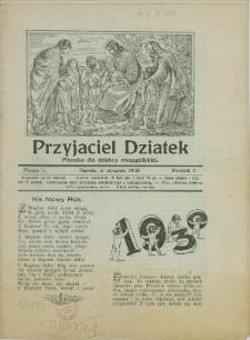 Przyjaciel Dziatek, 1930, Nry 1-12