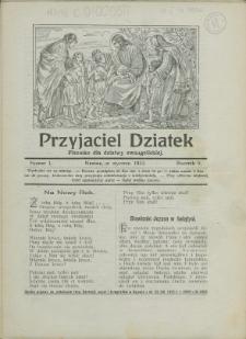 Przyjaciel Dziatek, 1932, Nry 1-12