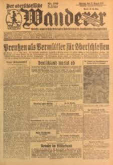 Der Oberschlesische Wanderer, 1926, Jg. 99, Nr. 189