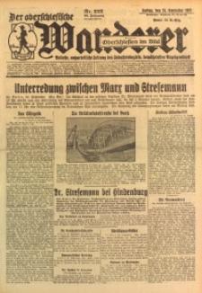 Der Oberschlesische Wanderer, 1926, Jg. 99, Nr. 222