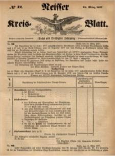 Neisser Kreis-Blatt, 1877, Jg. 36, nr12
