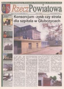 Rzecz Powiatowa : biuletyn informacyjny Starostwa Powiatowego w Głubczycach 2007, nr 9.