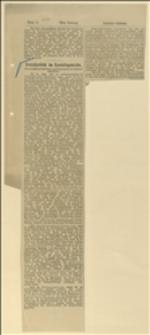 """Wycinek z """"Arbeiter-Zeitung"""", Wiedeń, 24.03.1912 r."""
