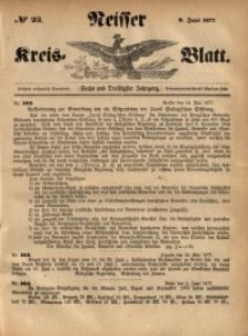 Neisser Kreis-Blatt, 1877, Jg. 36, nr23