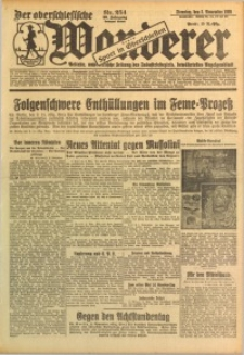 Der Oberschlesische Wanderer, 1926, Jg. 99, Nr. 254