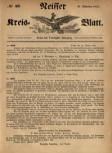 Neisser Kreis-Blatt, 1877, Jg. 36, nr43
