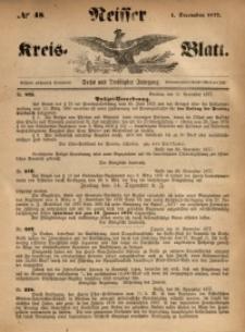 Neisser Kreis-Blatt, 1877, Jg. 36, nr48