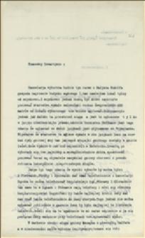 List P. Steca do T. Regera w sprawie socjalistycznej agitacji wyborczej we Frysztacie i lokalu kancelarii wyborczej u Rudolfa Małysza - Frysztat, 03.06.1911 r.