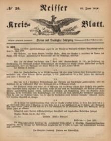 Neisser Kreis-Blatt, 1878, Jg. 37, nr25