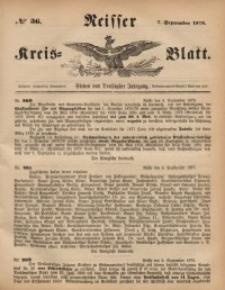 Neisser Kreis-Blatt, 1878, Jg. 37, nr36