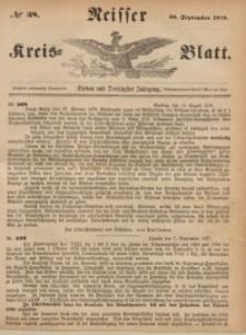 Neisser Kreis-Blatt, 1878, Jg. 37, nr38