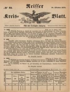 Neisser Kreis-Blatt, 1879, Jg. 38, nr42