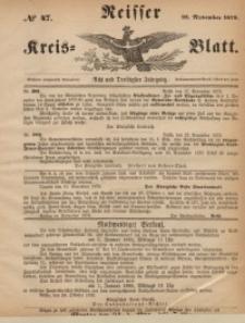 Neisser Kreis-Blatt, 1879, Jg. 38, nr47