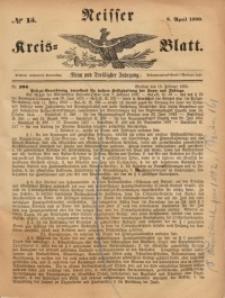 Neisser Kreis-Blatt, 1880, Jg. 39, nr15