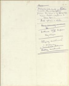Notatki T . Regera dotyczące Kasy Chorych za okres 31.07.-02.08.1917 r
