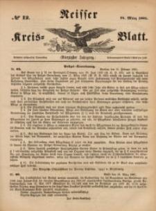 Neisser Kreis-Blatt, 1881, Jg. 40, nr12