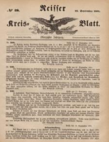 Neisser Kreis-Blatt, 1881, Jg. 40, nr38