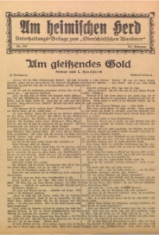 Am Heimischen Herd, 1928, Jg. 101, Nr. 110