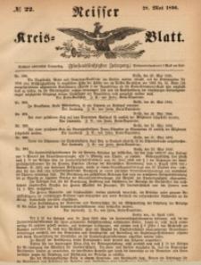 Neisser Kreis-Blatt, 1896, Jg. 55, nr22