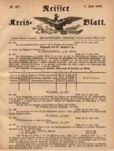 Neisser Kreis-Blatt, 1896, Jg. 55, nr27