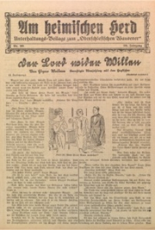Am Heimischen Herd, 1928, Jg. 101, Nr. 265