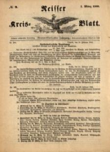 Neisser Kreis-Blatt, 1900, Jg. 59, nr9