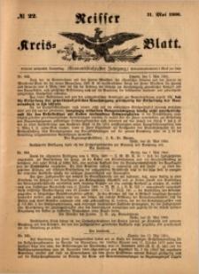 Neisser Kreis-Blatt, 1900, Jg. 59, nr22