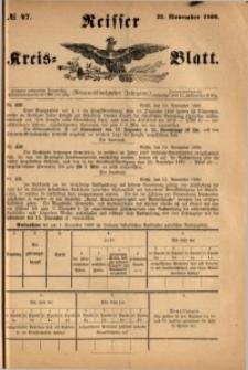 Neisser Kreis-Blatt, 1900, Jg. 59, nr47